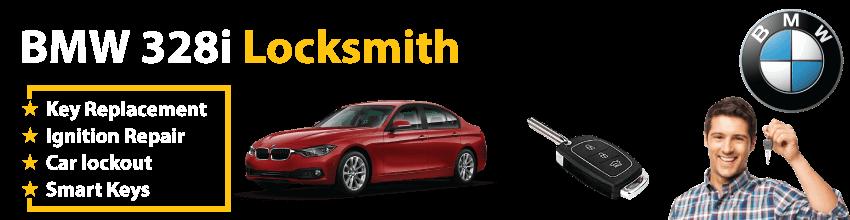 BMW 328i Car Key Replacement 24/7 - Okey DoKey Locksmith