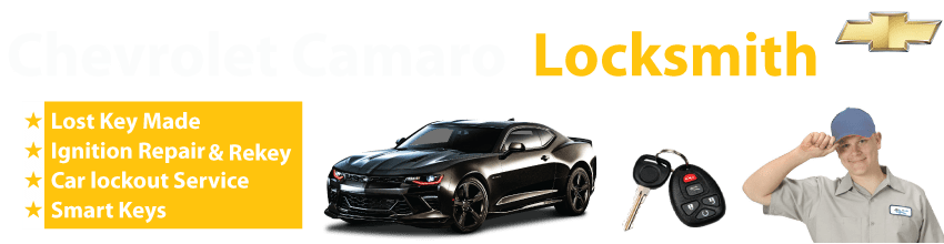 Chevrolet Camaro Car Key Replacement 24/7 - Okey DoKey Locksmith