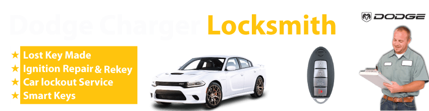 Dodge Charger Car Key Replacement 24/7 - Okey DoKey Locksmith