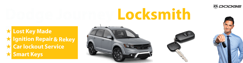 Dodge Journey Car Key Replacement 24/7 - Okey DoKey Locksmith