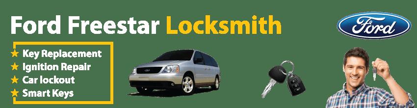 Ford Freestar Car Key Replacement 24/7 - Okey DoKey Locksmith