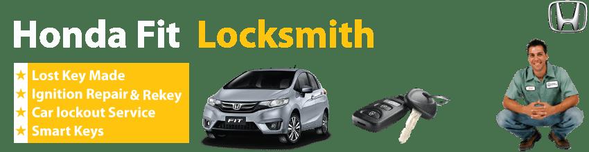 Honda Fit Car Key Replacement 24/7 - Okey DoKey Locksmith