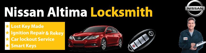 Nissan Altima Car Key Replacement 24/7 - Okey DoKey Locksmith