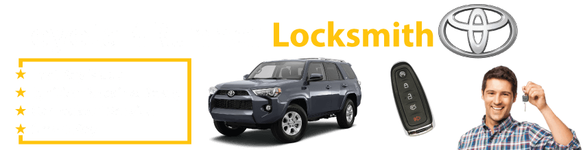 Toyota 4Runner Car Key Replacement 24/7 - Okey DoKey Locksmith